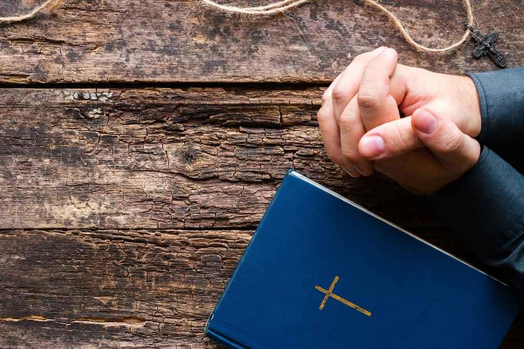 spiritual directee in prayer