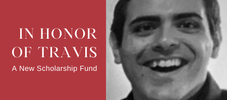 New Scholarship Fund in Honor of Eric Travis Schilling